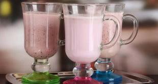 Przepis na 4 zdrowe i pyszne shake. Niskokaloryczne, smaczne, bez cukru.