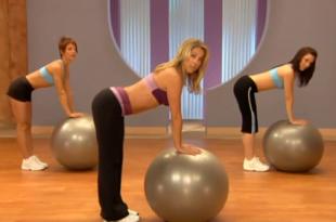 Kompletny, 15 minutowy trening body ball