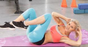 Proste siedem ćwiczeń ABS na rzeźbienie mięśni brzucha