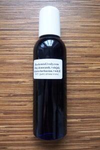 biochemia urody - olejek myjący
