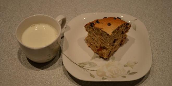 Banock i kubek mleka
