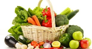 Sprawdź jakie warzywa i owocowe powinny się znaleźć w Twoim jadłospisie.
