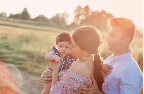 Dzięki odpowiednie diecie - jeżeli w ciąży zadbasz o siebie - urodzisz zdrowe i silne dziecko.