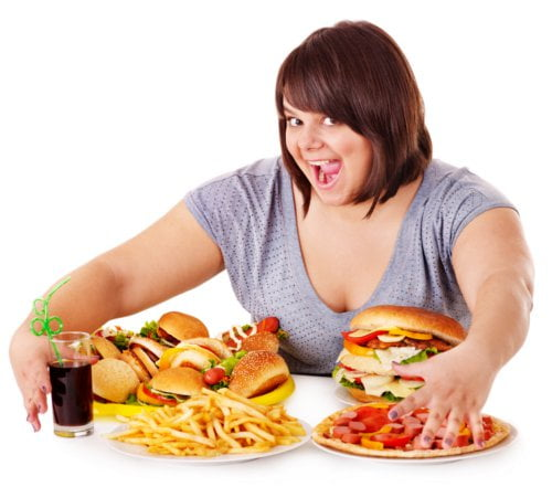 Jeżeli chcesz by Twoja waga się zwiększyła - unikaj niezdrowego jedzenia.