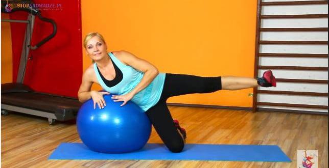 Zestaw ćwiczeń wzmacniających pośladki.