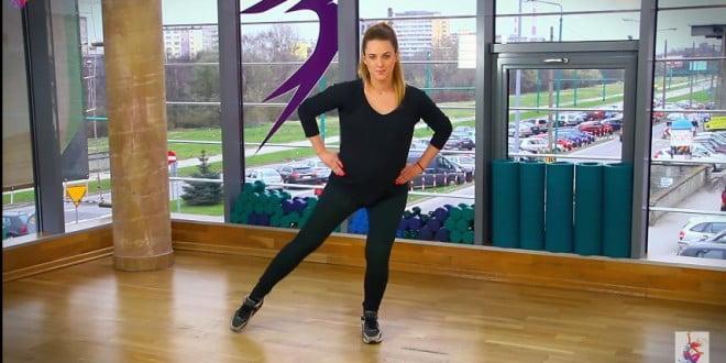 Ćwiczenia dla kobiet w ciąży - zestaw na nogi