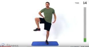 Zestaw ćwiczeń wzmacniających na bazie treningu fitness