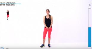 Intensywny trening interwałowy cardio.