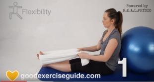 Proste ćwiczenia na ból kolan.