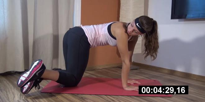 Zestaw ćwiczeń na ból dolnych partii pleców