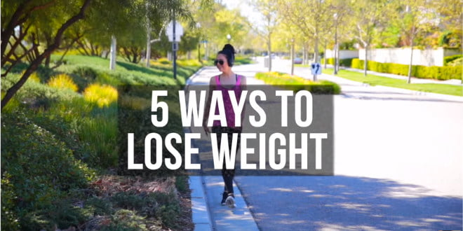 5 sposobów na zrzucenie wagi. Koniecznie je zastosuj!