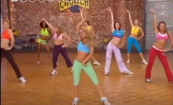 Kolejny trening dla szalejących w domu - tańczące ćwiczenia na boczki