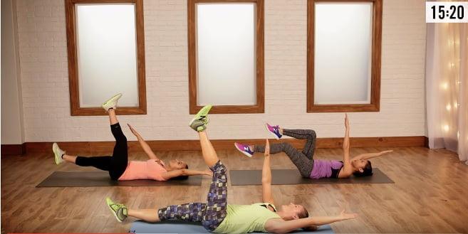 Spokojny trening cardio dla osób początkujących.