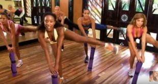 Ćwiczenia na talię, uda i pośladki