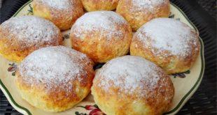 Pieczone pączki - propozycja na deser z pączków na tłusty czwartek i nie tylko.