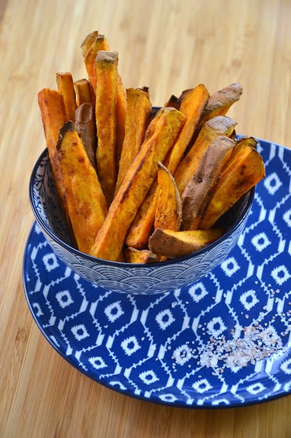 Jeżeli jesteś fanką zdrowego odżywiania - koniecznie wypróbuj frytki z batatów.