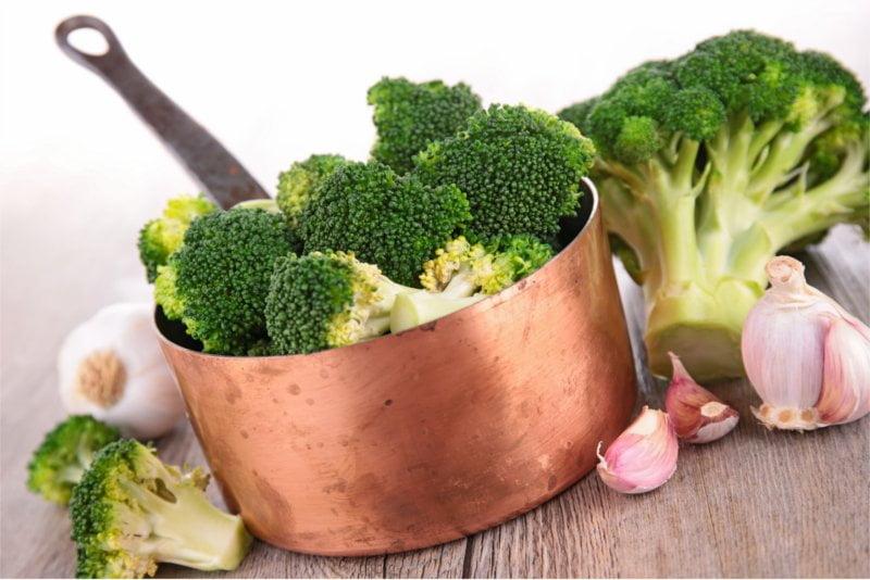 Koktajl brokułowy jest doskonałym przeciwutleniaczem.