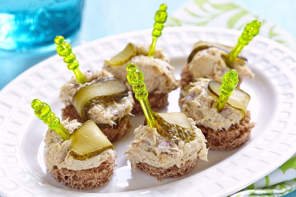 Zdrowa pasta z tuńczyka na śniadanie