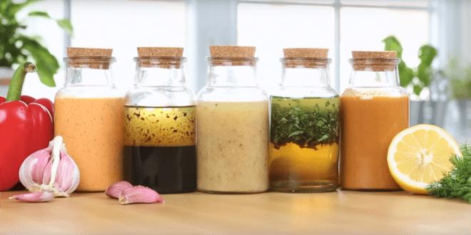 Świetne propozycje dressingów do sałatek