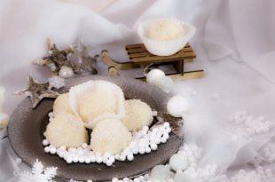 Pyszne, zdrowe, świąteczne kokosanki.
