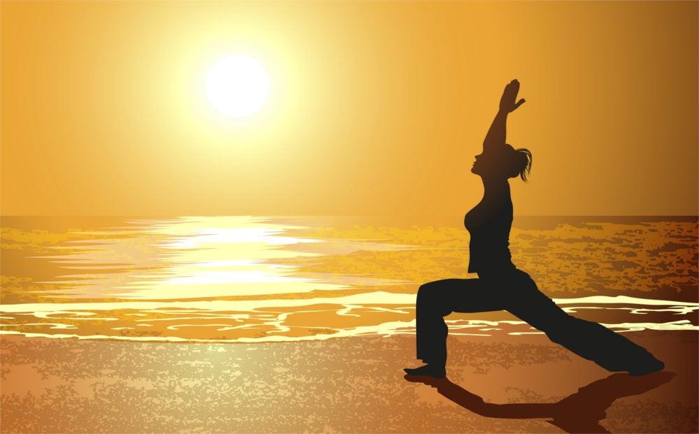 Joga jest doskonała również do innych treningów.