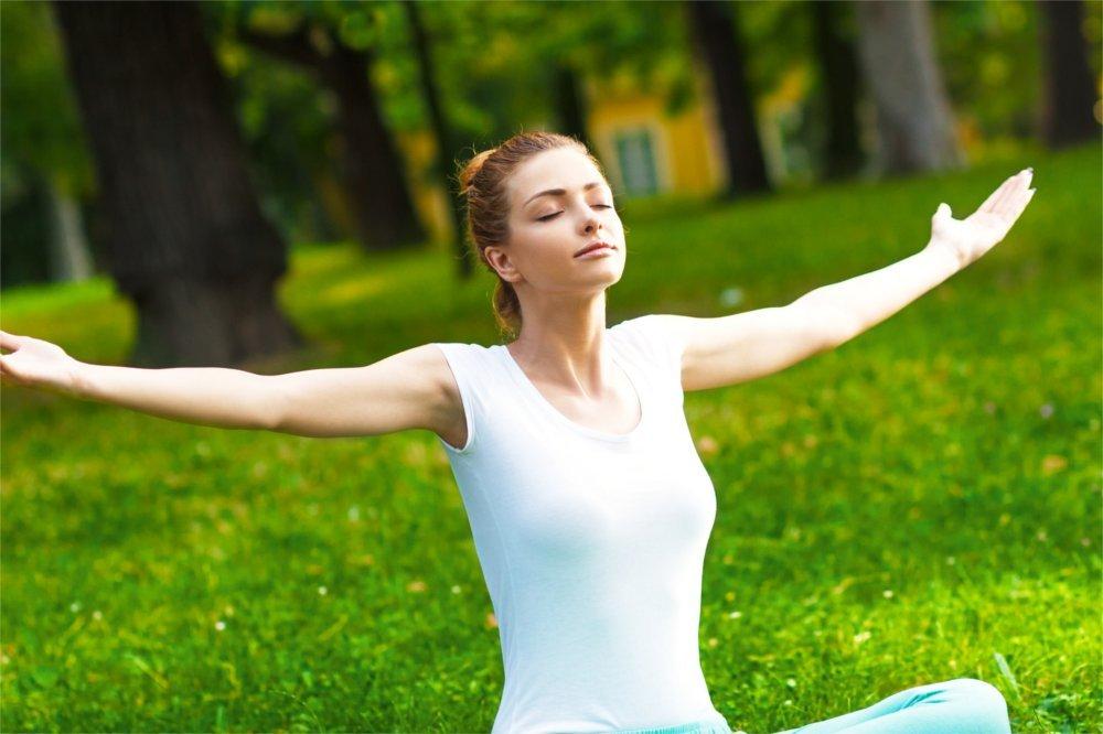 Joga to kontrola oddechu i walka ze stresem.