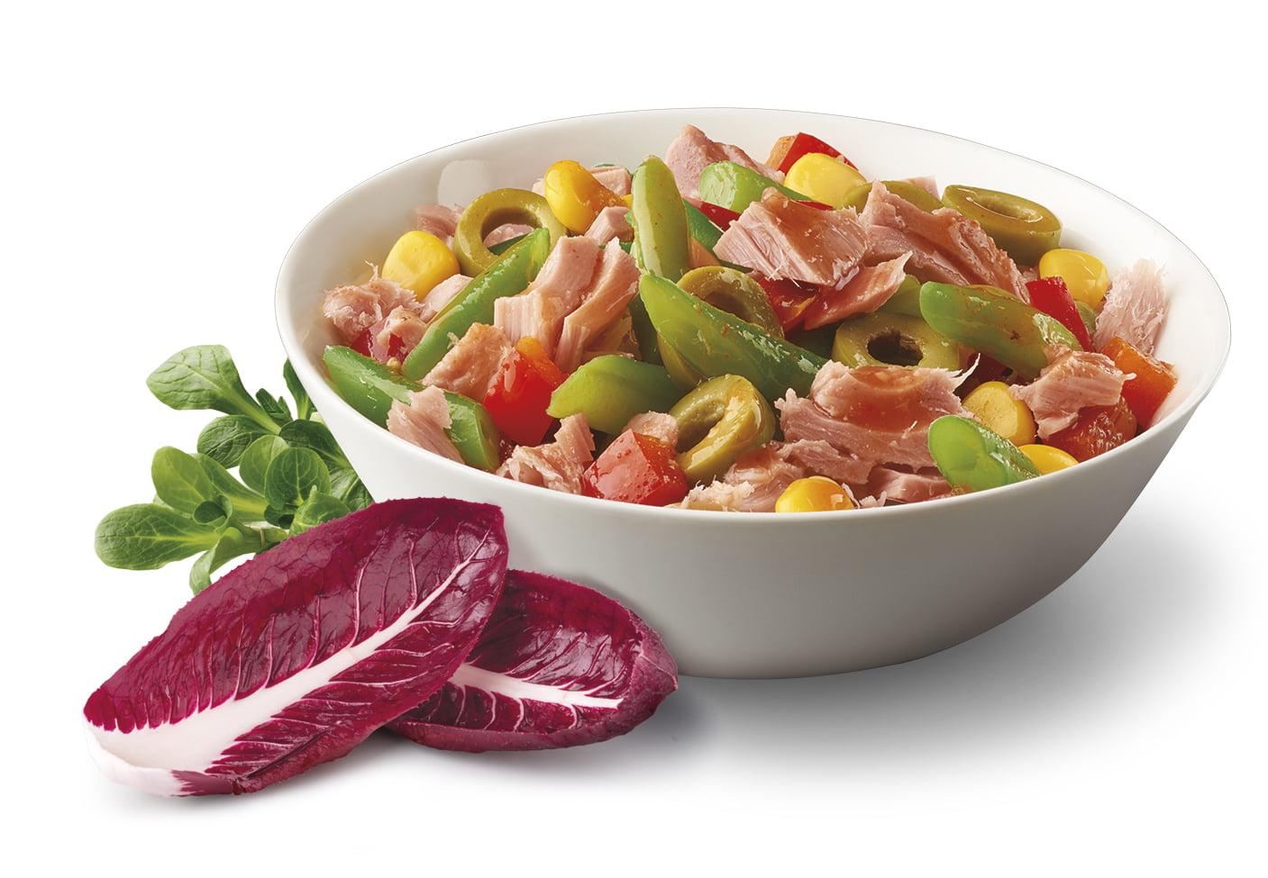 Sałatka z tuńczykiem - dieta Kalibra