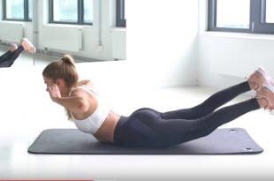 Ćwiczenia na smukłe i szczupłe ramiona.