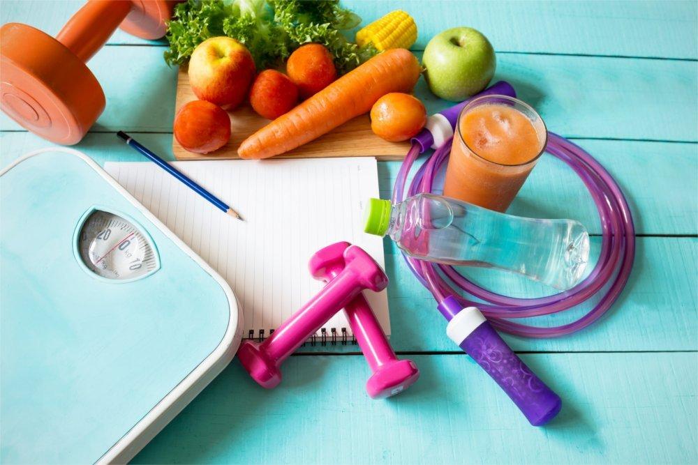Odchudzanie do dieta i ćwiczenia.