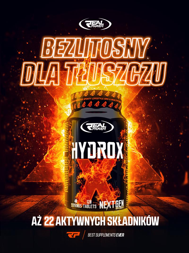Hydrox - naturalny spalacz tłuszczu