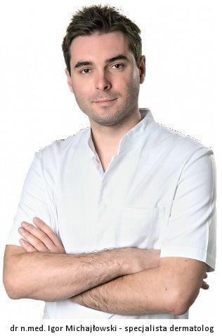 jeden z dermatologów