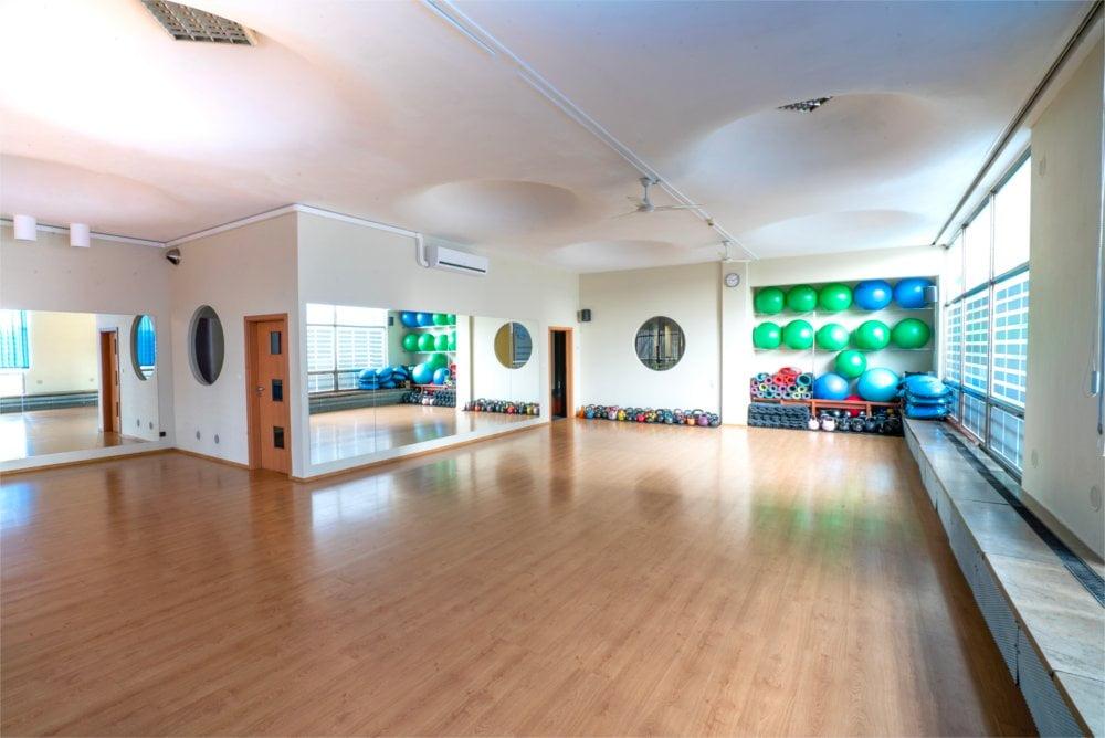 Sala fitness w klubie Sagot Gym