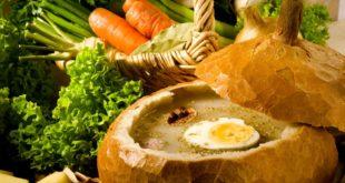 Żur to tradycyjna potrawa śląska. Teraz możesz sam przygotować tą pyszną zupę.