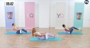 13 minutowy trening modelujący mięśnie brzucha który wykonasz w domu.