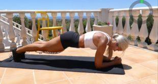 Krótki i intensywny trening który wykonasz w domu aby wzmocnić swoje ciało i zmniejszyć ilość tkanki tłuszczowej.