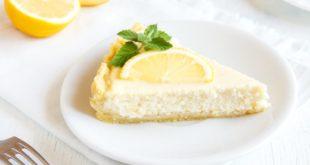 Przepis na ciasto z cytrynowym musem które jest rewelacyjnym uzupełnieniem spotkania przy kawie.