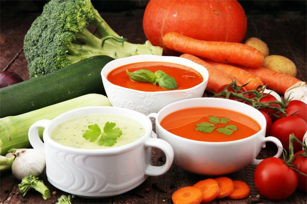 Zupy są jednym z podstawowych usprawnień w diecie.