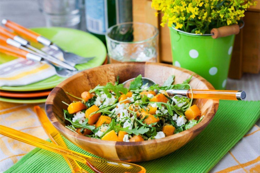 W tej diecie jest dużo warzyw.