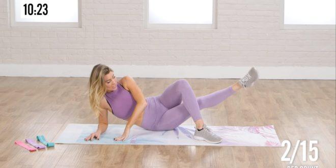 Trening wzmoacniający i modelujący mięśnie pośladkowe.
