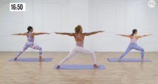 Wyszczuplający trening power jogi który jednocześnie naładuje Cię energią.