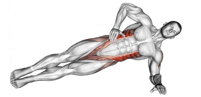 Plank to jedno z najlepszych ćwiczeń na płaski brzuch.