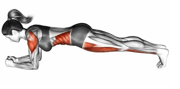 Plank - super cwiczenie na mocny brzuch