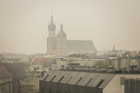 Oczyszcza powietrza - smog