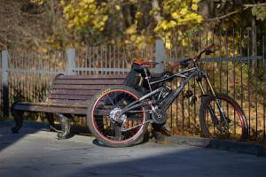 rower na jesien w pełni przygotowany
