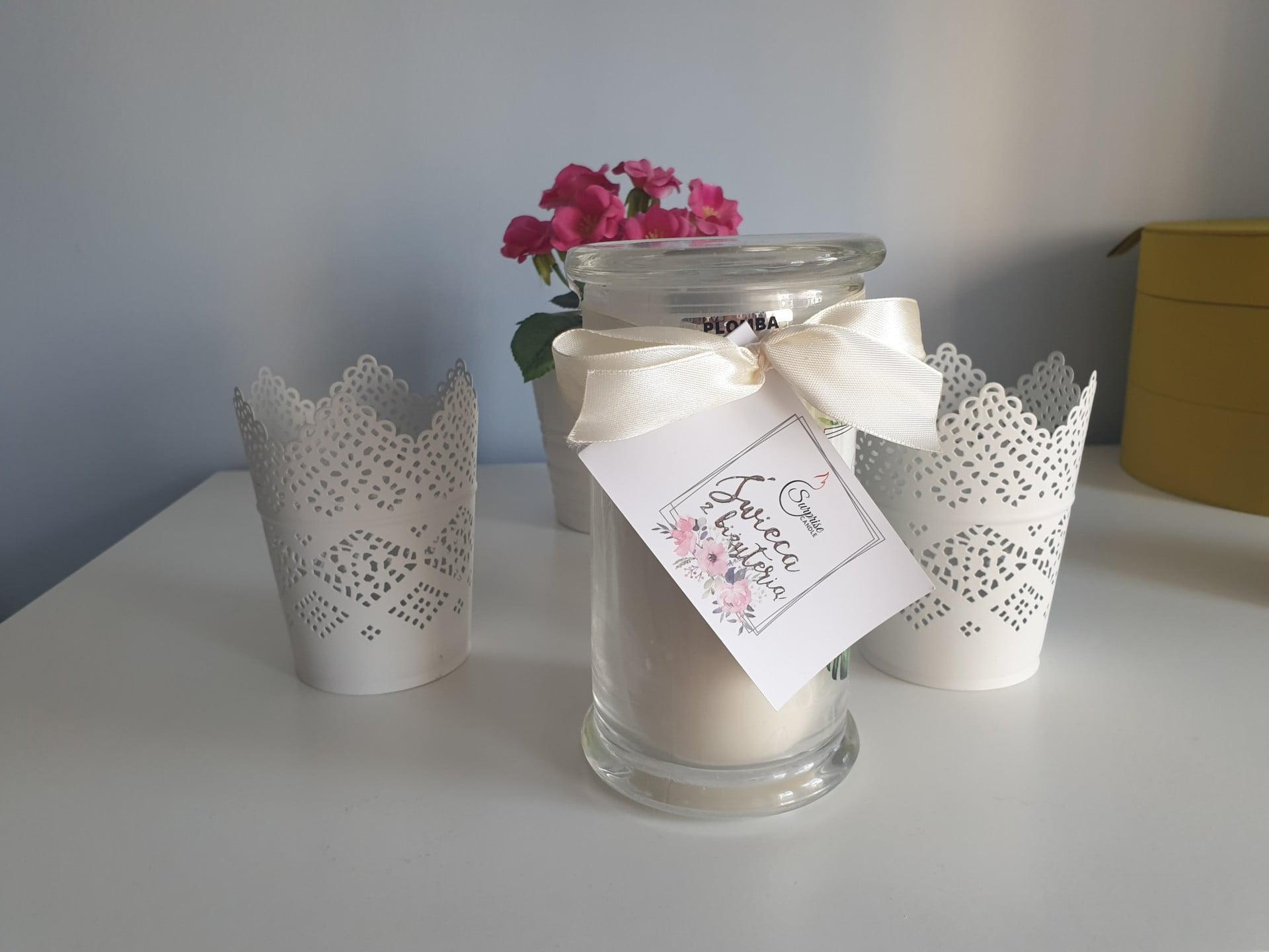 Świeca jako prezentowy pomysł pachnie fantastycznie.