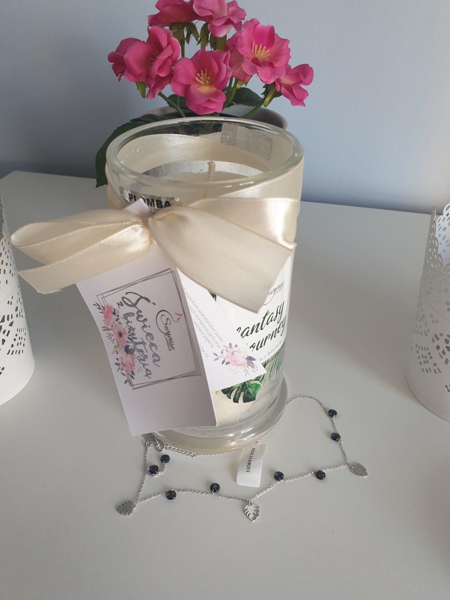 Świeca - pomysł na prezent na święta