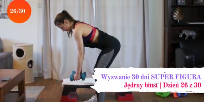 26 dzien wyzwania treningowego z Pati