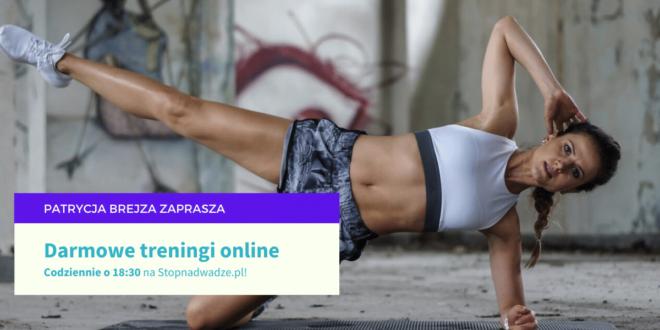 Codziennie trening online z Patrycją