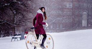 Jazda rowerem zimą - porady.