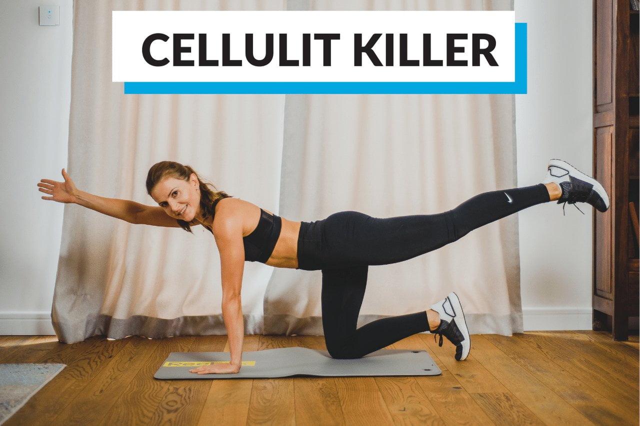 W tej serii pracujemy nad udami i cellulitem.